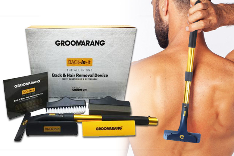 Groomarang 'Back in It' Back & Body Hair Remover from £19.99