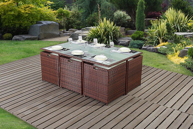 Pleasant Seater Rattan Cube Furniture Set With Excellent Collect  Club Wowcher Points When You Buy This Deal With Captivating Types Of Garden Fencing Also Soho Garden Restaurant In Addition Garden Wall Lights Led And Kneeling Mats For Gardening As Well As Green Garden Paving Additionally The Garden Kitchen Lancashire From Wowchercouk With   Excellent Seater Rattan Cube Furniture Set With Captivating Collect  Club Wowcher Points When You Buy This Deal And Pleasant Types Of Garden Fencing Also Soho Garden Restaurant In Addition Garden Wall Lights Led From Wowchercouk