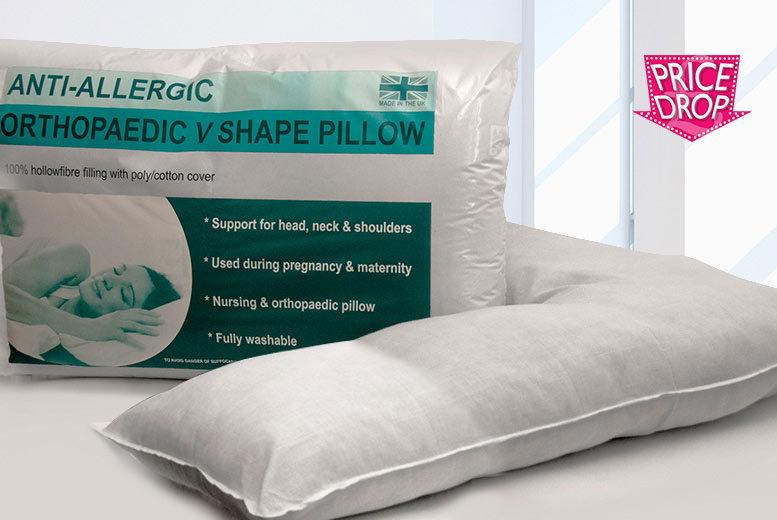 Orthopaedic V-Shaped Pillows