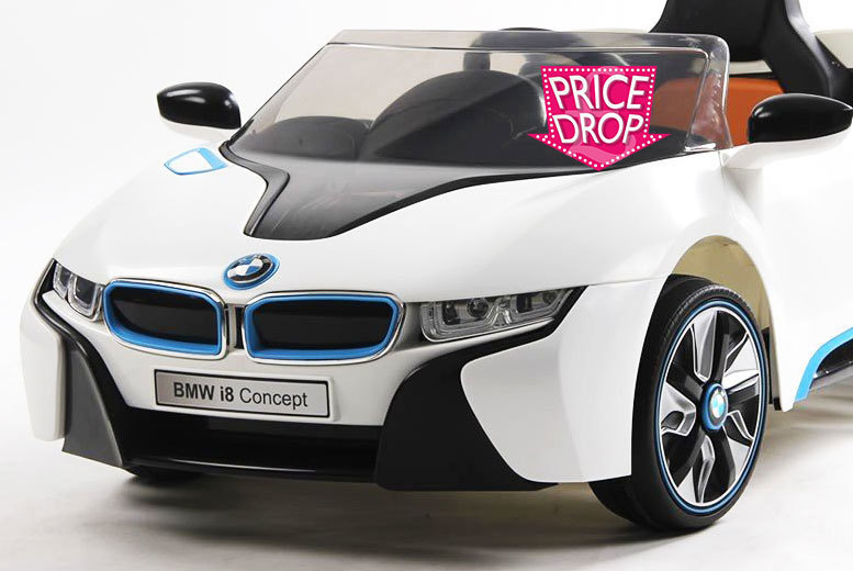 kids electric ride on bmw i8 car. Black Bedroom Furniture Sets. Home Design Ideas