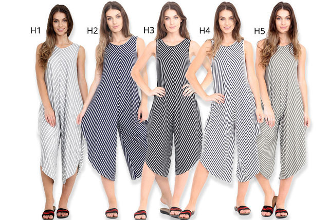 patterned harem jumpsuit
