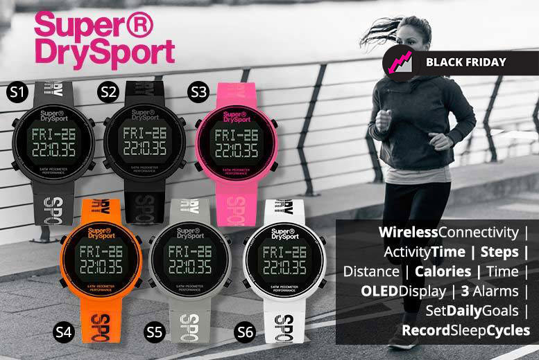 Unisex Superdry Sports Watches - 13 Styles!