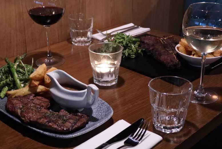 The Best Deal Guide - 2-Course Steak Dining & Wine for 2 @ Berry St Bar & Kitchen