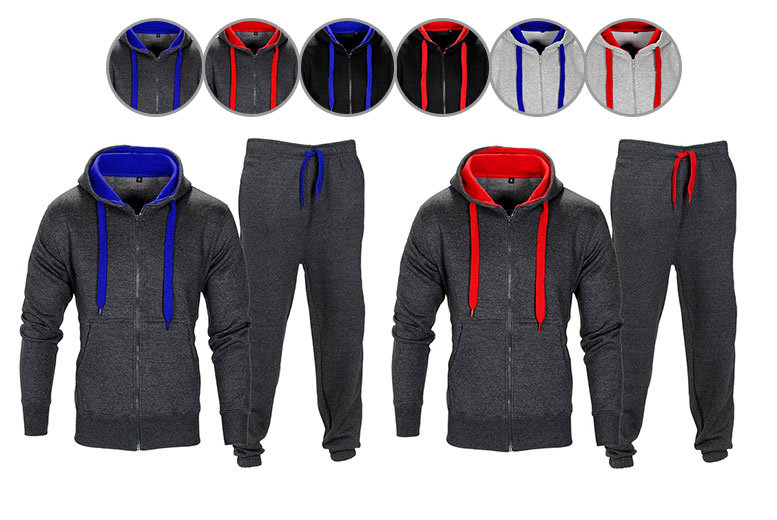 Men's Thermal 2pc Tracksuit – 6 Colours! for £14.99