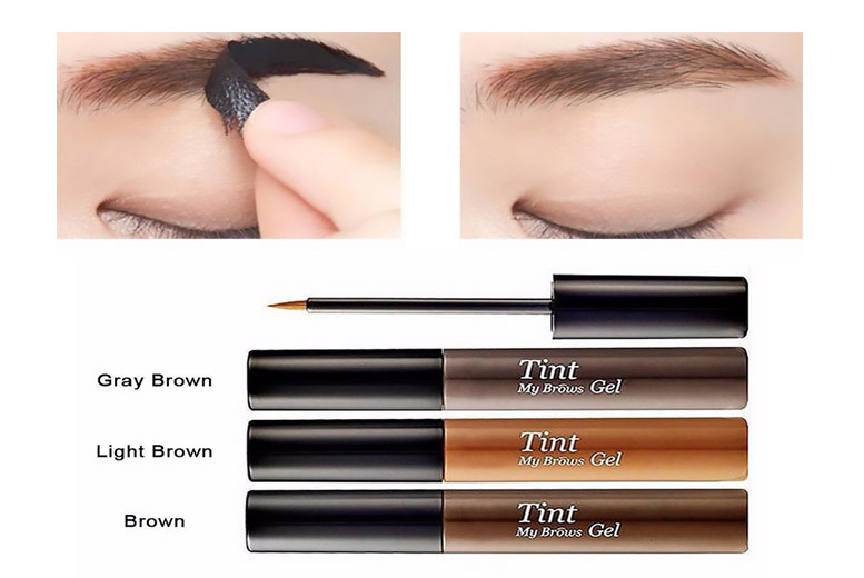 Peel-Off Eyebrow Tint Gel – 3 Colours! for £1.99