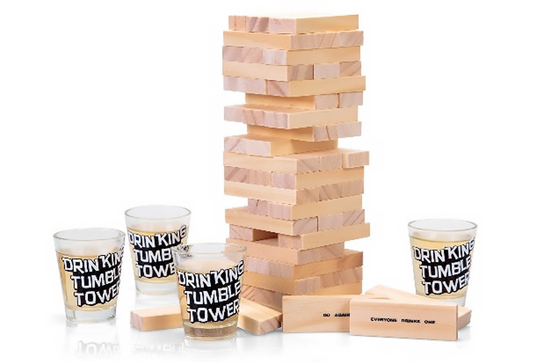Tumble Tower Drinking Game for £9.99
