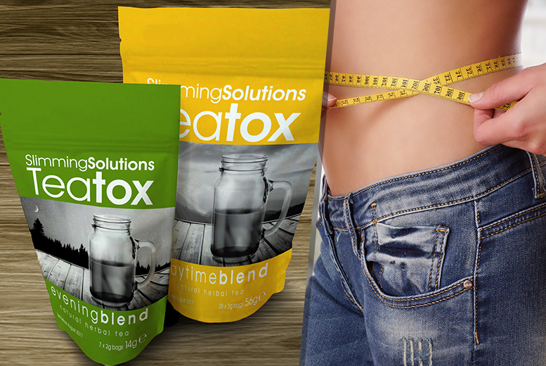 28-Day* supply of Teatox Teabags for £14