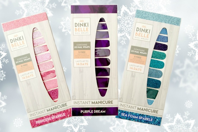 3 Pack of Nail Wraps – 4 Collections! for £7.99