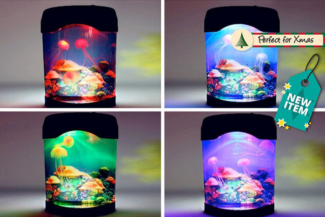 Colour Changing Jellyfish Lamp