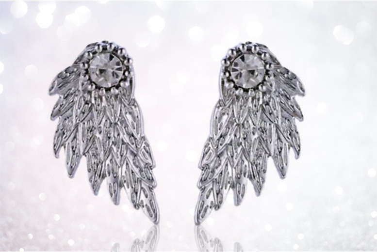 Angel Wing Earrings for £3.99
