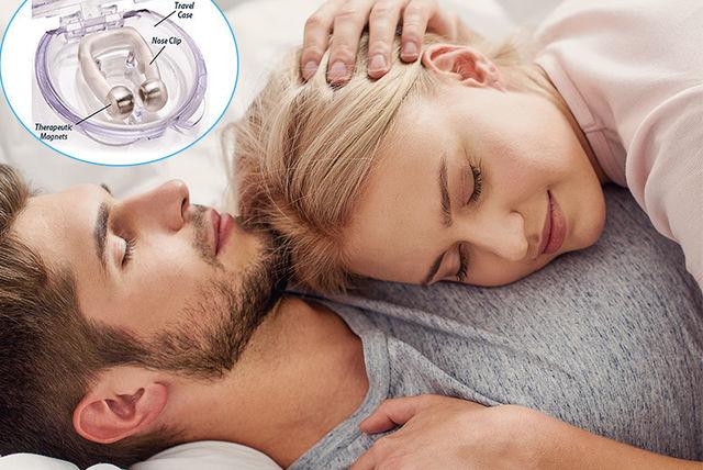 acusnore anti-snoring magnetic nose clip
