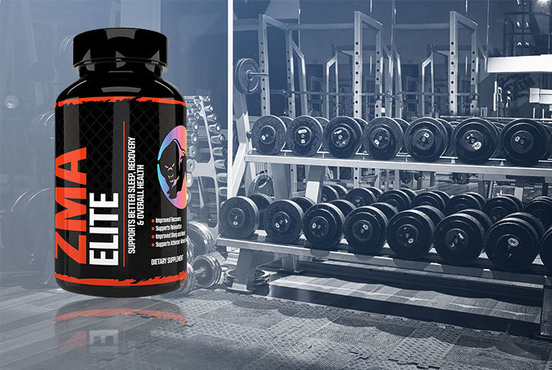 1 Month Supply* of ZMA Elite Recovery Capsules for £6.99
