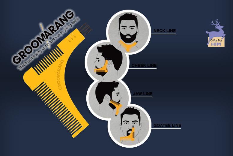 Groomarang Beard Grooming Kit for £9.99