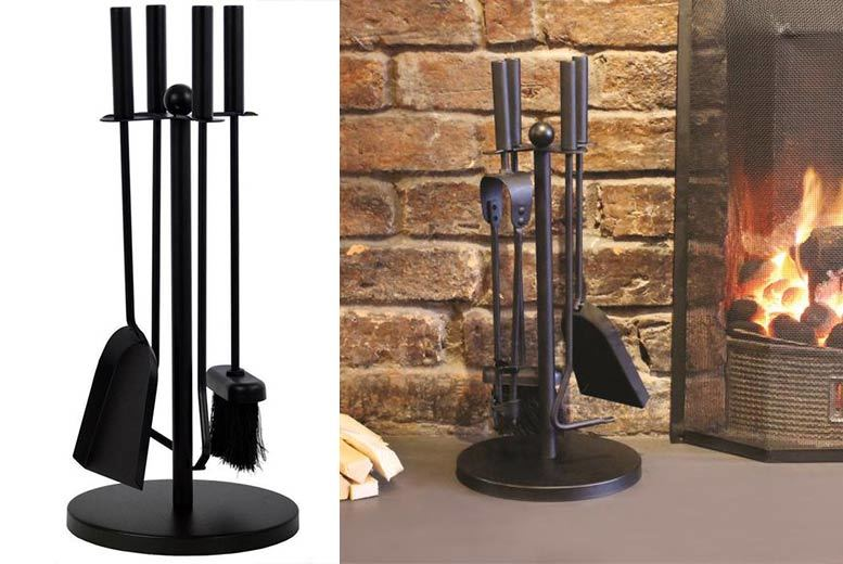 5pc Vintage-Style Fireside Companion Set for £12