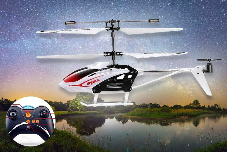 Syma S5 Mini RC Helicopter – 2 Colours! for £9.99