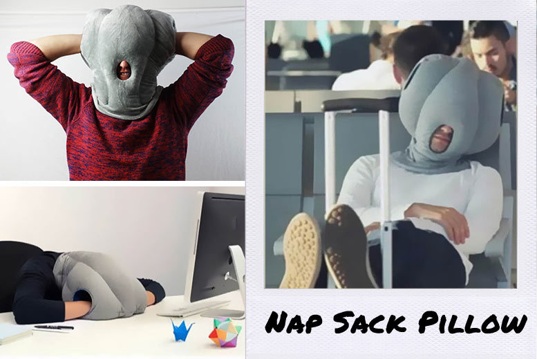 Nap Sack Travel Pillow for £14.99