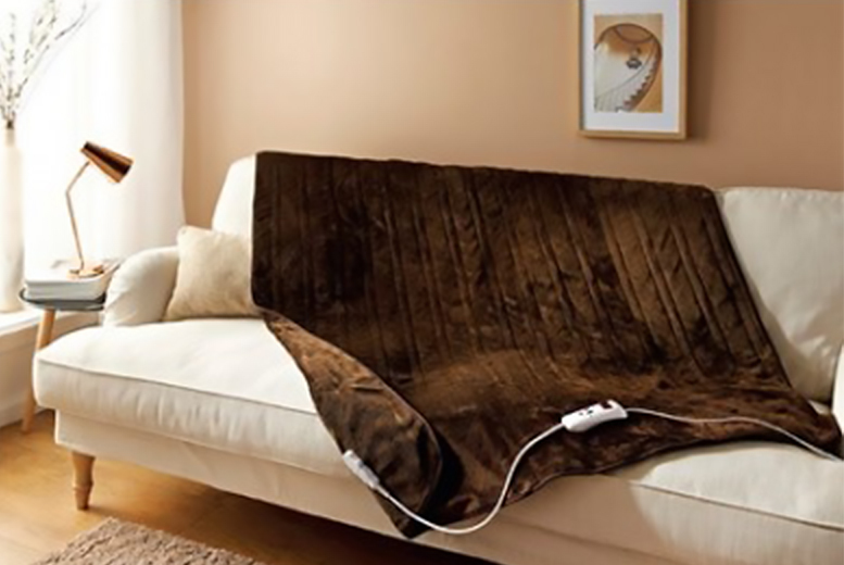 Electric Heated Soft Touch Blanket! from £29.99