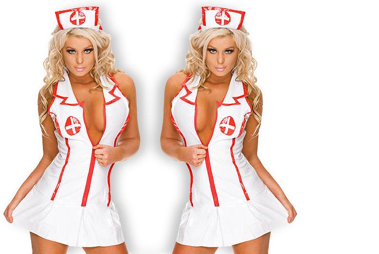 Sexy Nurse Costume for £9