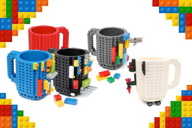 lego compatible brick mugs