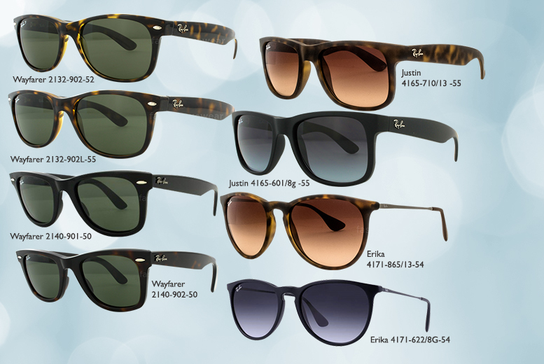 From £65 for a pair of Ray-Ban sunglasses - choose from 17 styles and save up to 39%