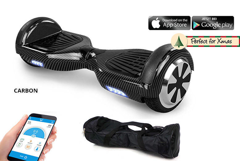 Official Certified Hoverboard with Carry Case – 5 Colours! for £199