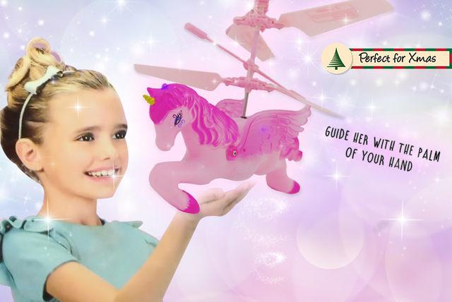 magical flying unicorn toy