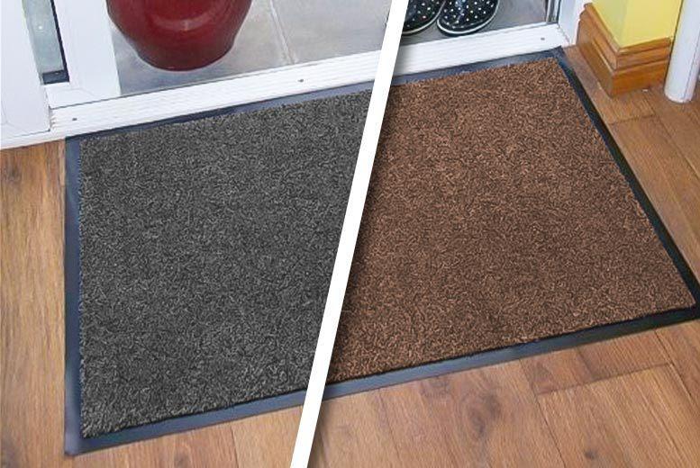 Magic 'Dirt Grabber' Door Mat – 2 Colours & 2 Sizes! from £7.99