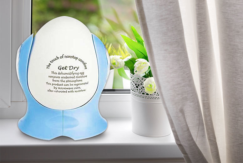 Portable Dehumidifying Eggs – 2 or 4! from £5.99