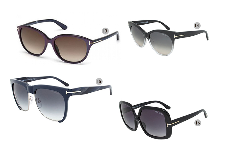 From £65 for a pair of Tom Ford designer sunglasses - choose from 16 fabulous styles and save up to 74%