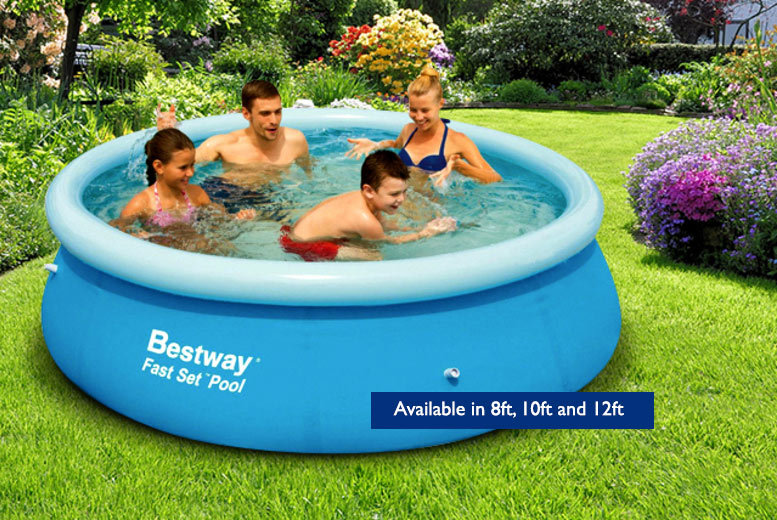 Large family garden pool 5 sizes for Family garden pool
