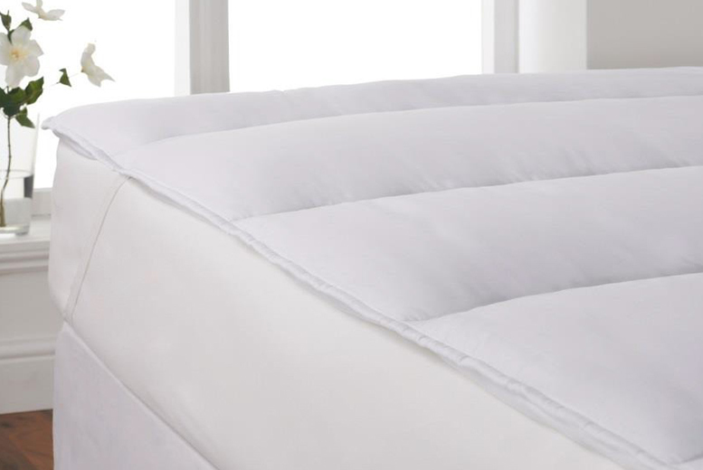 Extra-Soft Microfibre Mattress Topper from £14
