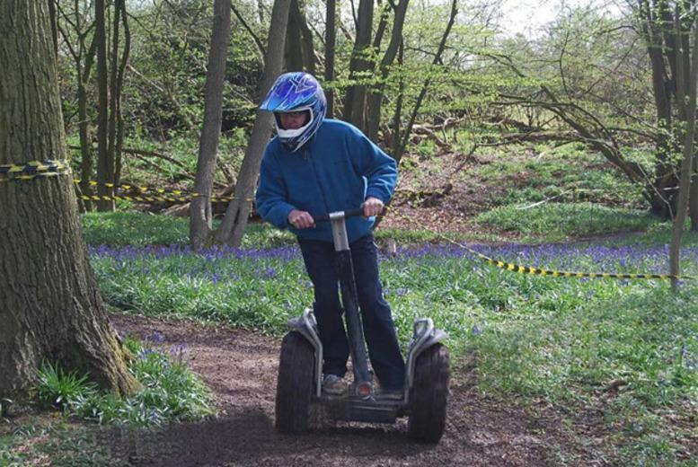 £17 for an off-road Segway experience for one person, £29 for two or £56 for four people at Segway Unleashed - choose from two locations and save up to 65%
