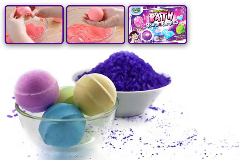 Make Your Own Bath Bomb Kit for £8.99