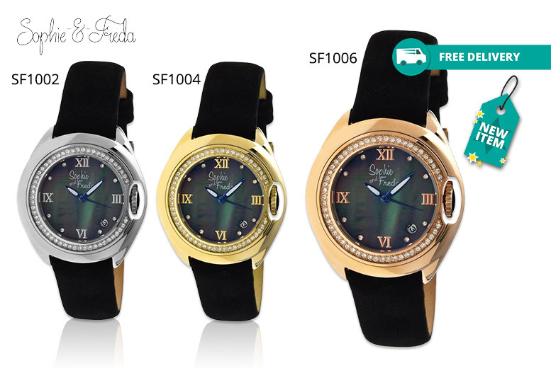Ladies Sophie & Freda 'Belize' Watch - 5 Designs!