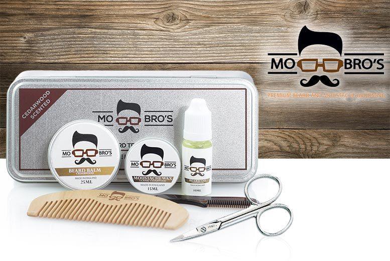 Mo Bro's Beard Grooming Gift Set for £11
