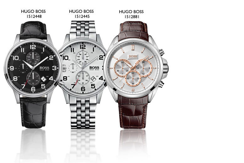 From £129 for a men's Hugo Boss watch - choose from six styles and save up to 47%