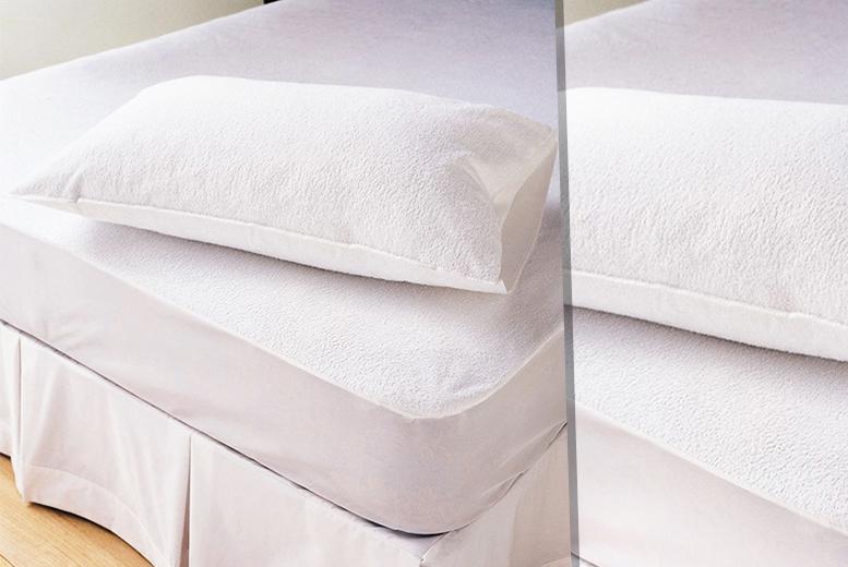 Terry Towel Waterproof Mattress Protector