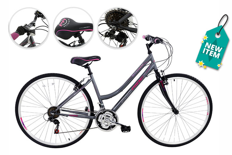 Hybrid Pro Rider Bike – Men's or Ladies' Options! for £179