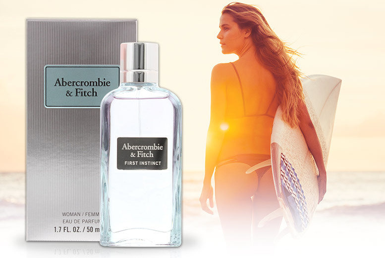50ml Abercrombie & Fitch 'First Instinct' EDP for £34
