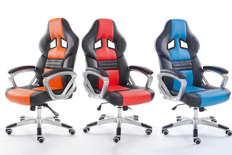 Tilt Function Desk Chair- 3 Colours! for £69