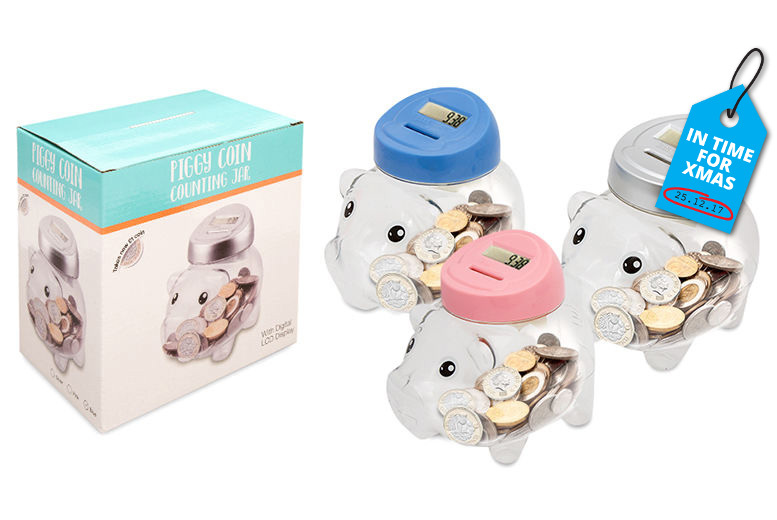 The Best Deal Guide - Electronic Piggy Bank