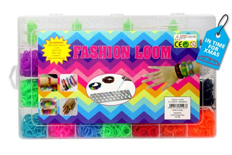 4000pc Loom & Charms Kit for £4.99