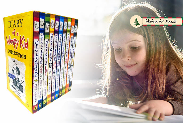 Diary of a Wimpy Kid 10-Book Box Set for £23