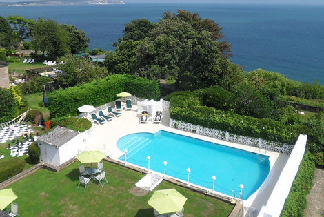 From £189 (from Luccombe Hall) for a two-night Isle of Wight break for two people with a three-course dinner, leisure access, breakfast and return ferry - save up to 40%