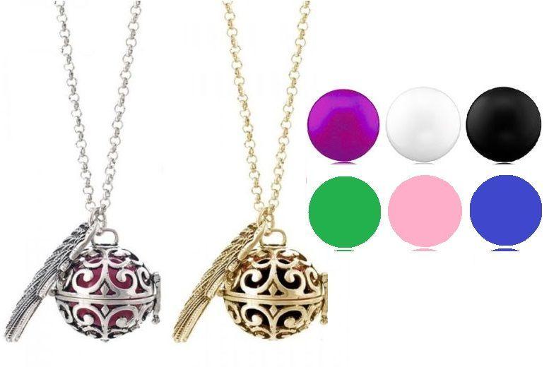 Guardian Angel' Soundball Necklace – 12 Colour Combos! for £9