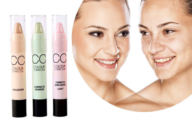 3 Colour Corrector Stix for £6.99