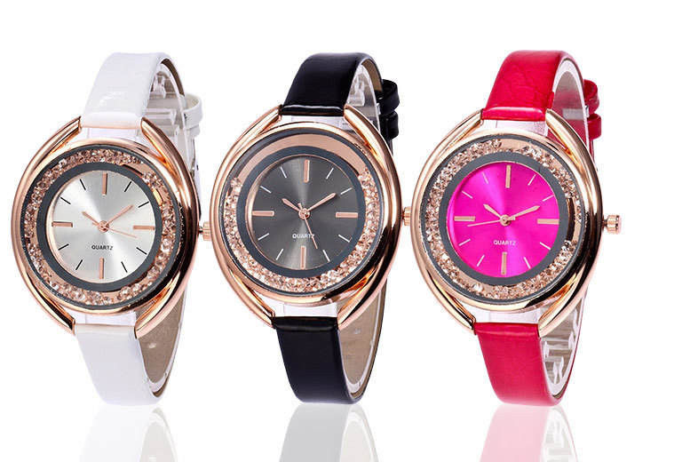 Crystal Watch - 3 Colours!