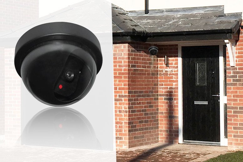 Dummy LED CCTV Camera – 2 Options! from £4.99
