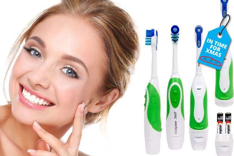 Colgate 360° Electric Toothbrush for £6.99