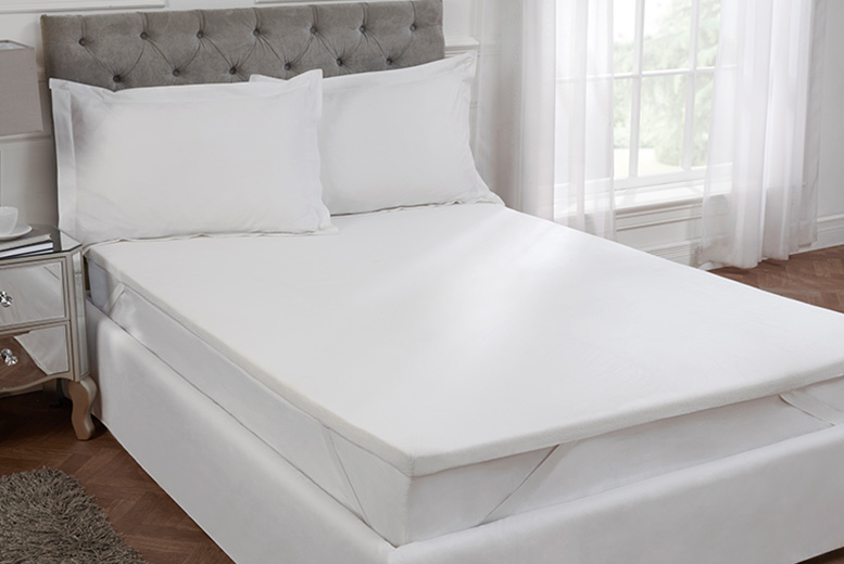 Cascade Home Deep Memory Foam Mattress Topper for £39